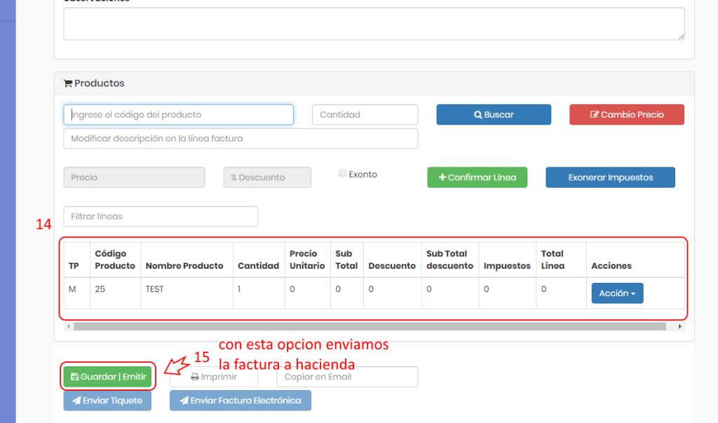 creacion factura web 5