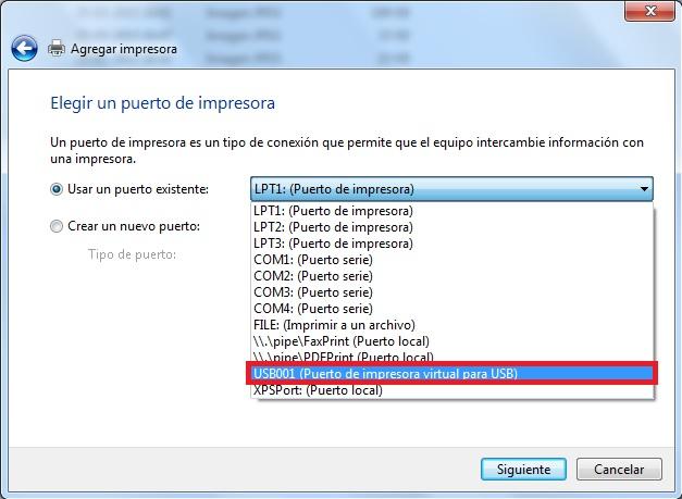 Resultado de imagen para agregar impresora windows 10 local manual