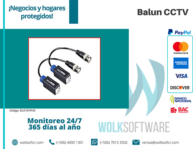 Balun CCTV | DLX101PHD