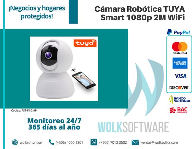 Cámara Robótica TUYA Smart 1080p 2M Wifi | PST-F4-2MP