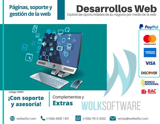 SERVICIOS DE DESARROLLO WEB – COMPLEMENTOS | EXTRAS