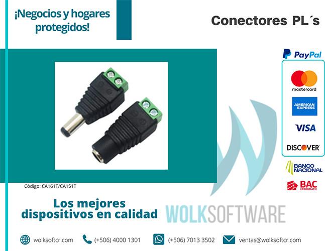 Conectores PL´s | CA161T/CA151T