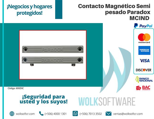 Contacto Magnético Semi pesado Paradox | MCIND