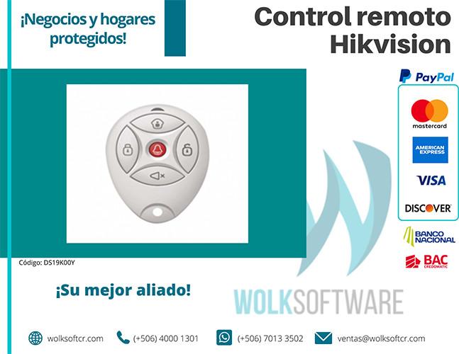 Control Remoto Hikvision | DS19K00Y