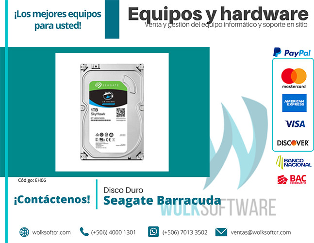 DISCO DURO Seagate Barracuda ST1000VX005