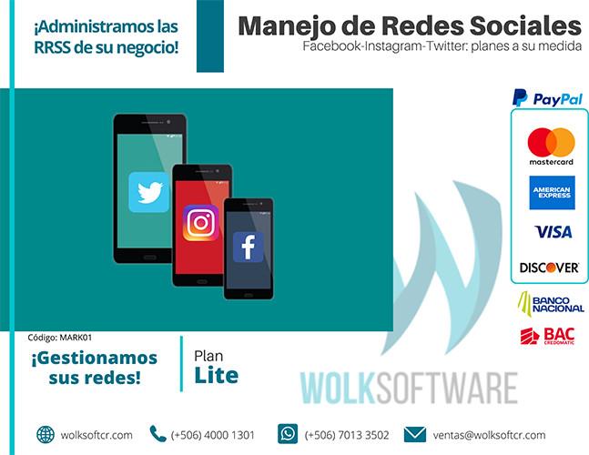Plan Lite Marketing | Mensualidad