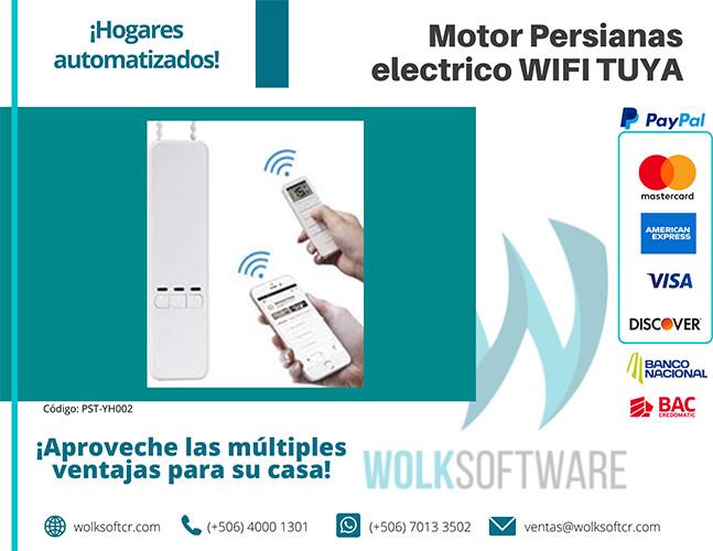 Motor Persianas eléctrico WIFI TUYA | PST-YH002