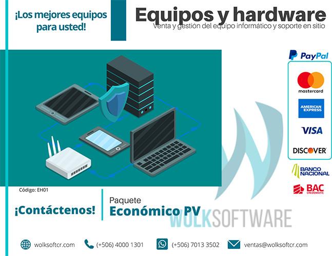 PAQUETE ECONÓMICO PV| HARDWARE