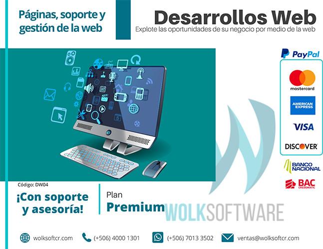 Plan Premium | Desarrollo WEB a la medida Su página WEB + TIENDA ON LINE