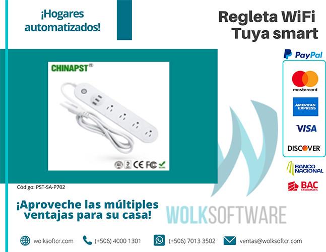 Regleta wifi Tuya Smart | PST-SA-P702