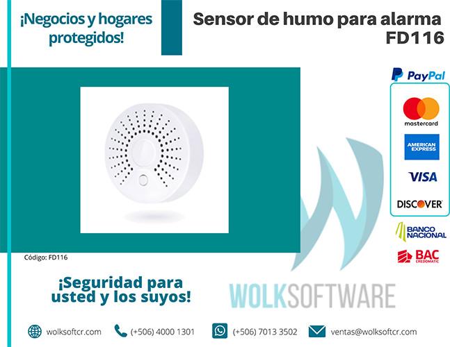 Sensor de humo para alarma | FD116