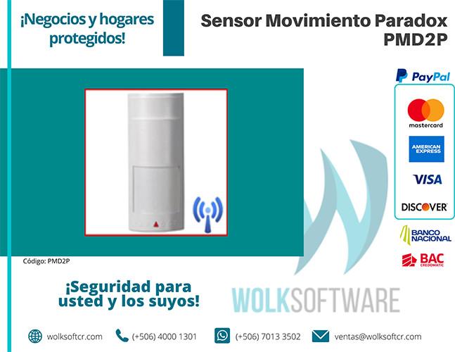 Sensor de movimiento PARADOX PMD2P