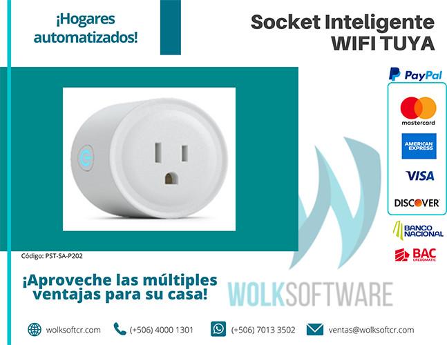 Socket Inteligente WIFI TUYA | PST-SA-P202