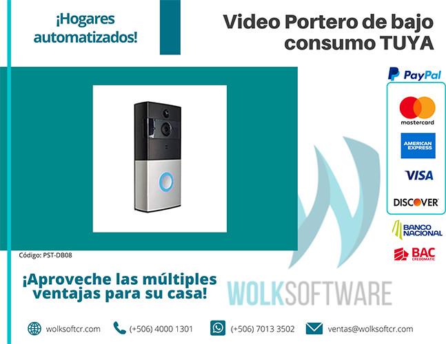 Video Portero de bajo consumo TUYA | PST-DB08